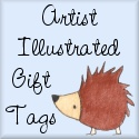 Artist Illustrated Gift Tags.