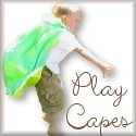 Handcrafted Play Capes for Kiddos.