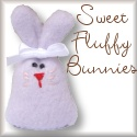 Fluffy Bunny Toys and Lovies.